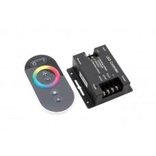 Контроллер LED RGB 24А 12-24В сенсорный пульт SWG