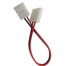 Коннектор для ленты 3528 двухсторонний (ширина 8 мм,длина провода 15 см ) 12В SWG