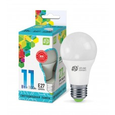 Лампа светодиодная A60 standard 11Вт 4000К 990Лм Е27 ASD