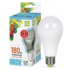 Лампа светодиодная A60 standard 20Вт 4000К 1800Лм Е27ASD