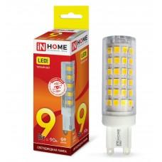 Лампа светодиодная JCD VC 9Вт 230В G9 3000К 810Лм IN HOME