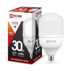 Лампа светодиодная HP PRO 30Вт 6500К 2700Лм Е27 IN HOME