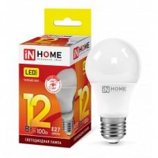 Лампа светодиодная A60 VC 12Вт 3000К 1080Лм Е27 IN HOME