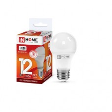 Лампа светодиодная A60 VC 12Вт 6500К 1080Лм Е27 IN HOME