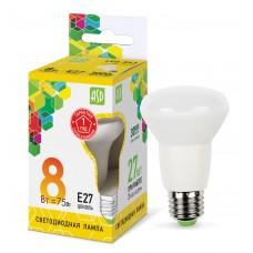 Лампа светодиодная R63 standard 8Вт 3000К 720Лм Е27 ASD