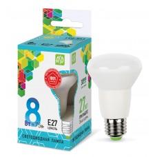 Лампа светодиодная R63 standard 8Вт 4000К 720Лм Е27 ASD