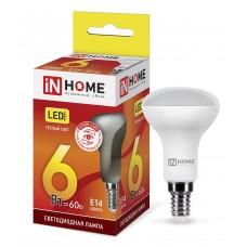 Лампа светодиодная R50-VC 6Вт 3000К 525Лм Е14 IN HOME