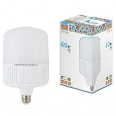Лампа светодиодная T 60Вт 6500К 4800Лм E27 (160x265 мм) Народная