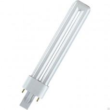 Лампа КЛЛ DULUX S 9Вт/840 G23 OSRAM/LEDVANCE