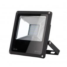 Прожектор светодиодный 20Вт 6500К 1380Лм IP65 черный Gauss Еlementary