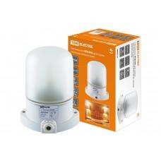 Светильник НПБ400 для сауны 60Вт IP54 белый TDM