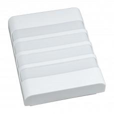 Светильник светодиодный ULW Q280 22Вт 4000К 2200Лм IP65 белый 200x160x58 мм Volpe