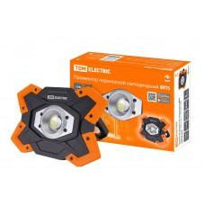Прожектор LED переносной ФП5 15Вт 1250Лм с Li-Ion аккумулятором  TDM