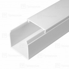 Кабель-канал белый в п/э 10х7 (234м/уп) Промрукав