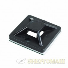 Дюбель-хомут 5-10 черный, прямоугольный (100 шт.)   PROCONNECT