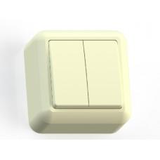 Выкл 2кл о/п Оптима А510-380 с/к