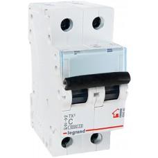 Legrand TX3 Автоматический выключатель 2P 16A (С) 6000