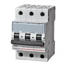 Legrand TX3 Автоматический выключатель 3P 25A (С) 6000
