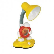 Настольная лампа Camelion KD-388 с часами 40W, Е27 в ассортименте