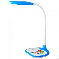 Настольная лампа ЭРА NLED-433-6W-BU Фиксики синий