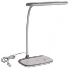 Настольная лампа ЭРА NLED-458-6W-W белая