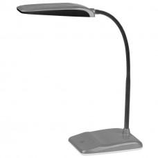 Настольная лампа ЭРА NLED-447-9W-S серебро