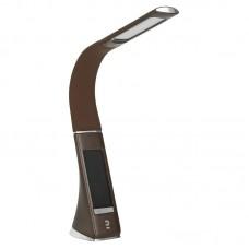 Настольная лампа ЭРА NLED-461-7W-BR коричневый