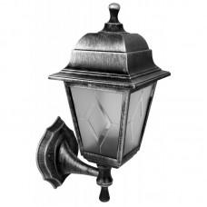 Светильник с/п НБУ 04-60-001 четырехгранник, настенный,пластик,серебро TDM