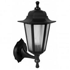 Светильник с/п НБУ 06-60-001 шестигранник, настенный,пластик черный TDM