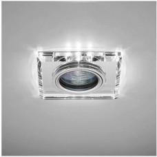 Светильник точ. Bohemia LED 51 8 70 тонкий стеклянный, прозрачный MR16+LED.