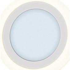 Светильник LED Piatto LED R 8+3 6000K BLUE (145*25мм врезное отверстие 120мм)