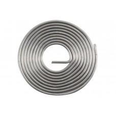 Припой с канифолью ПОС-40 D=2мм спираль 1 метр