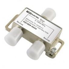 Делитель TV «краб»×2 под F разъем 5-1000 МГц TDM