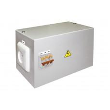 Ящик с понижающим трансформатором ЯТП-0,25 220/12-3авт. TDM