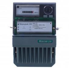 Электросчётчик Меркурий 230 АМ 01 (ОУ, 3 болта, 5(60)А, 3*230/400В, имп. Выход)