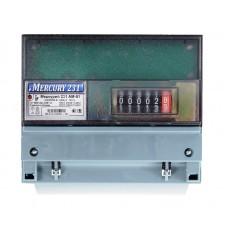 Электросчётчик Меркурий 231 АМ 01 (ОУ, din-рейка, 5(60)А, 3*230/400В, имп. Выход)