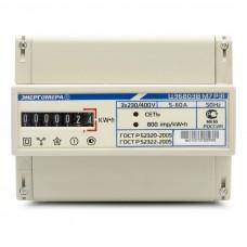 Электросчётчик Энергомера ЦЭ 6803В 1 3*230/400В 5(60)А М7 Р31 (на din-рейку)