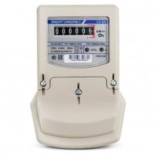 Электросчётчик Энергомера СЕ 101 S6 145 M6 (в щиток, ОУ, 5(60)А, 220В)