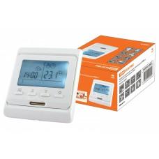 Терморегулятор ТТПЭ-1 (ЖКИ, 16А, 220В, датчик 3м, программируемый)