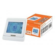 Терморегулятор ТТПЭ-2 (ЖКИ, 16А, 220В, датчик 3м, сенсорный, программируемый)
